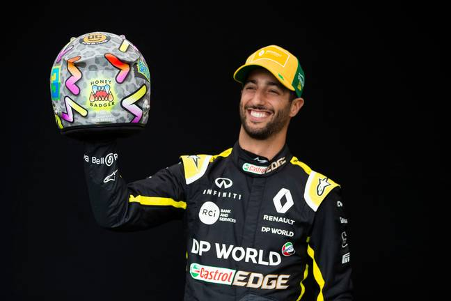 Daniel Ricciardo. Credit: PA