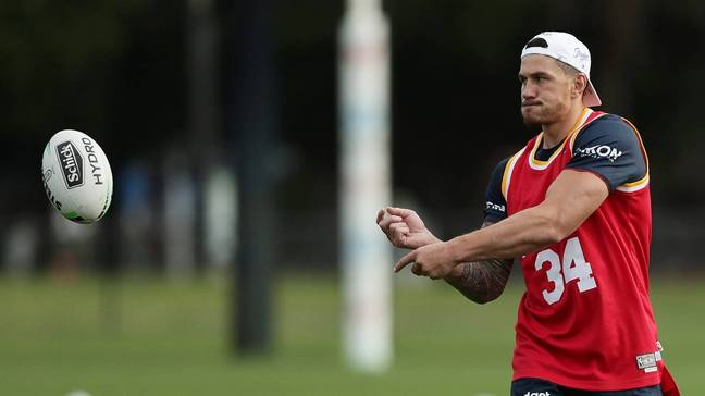 Williams has been working on his fitness levels ahead of his comeback. Credit: Sydney Roosters