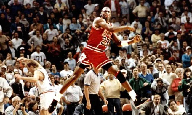 Michael Jordan won six NBA titles with the Chicago Bulls and is the greatest basketball player ever
