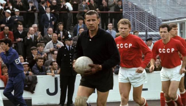 Lev Yashin is arguably the greatest goalkeeper in the history of the game