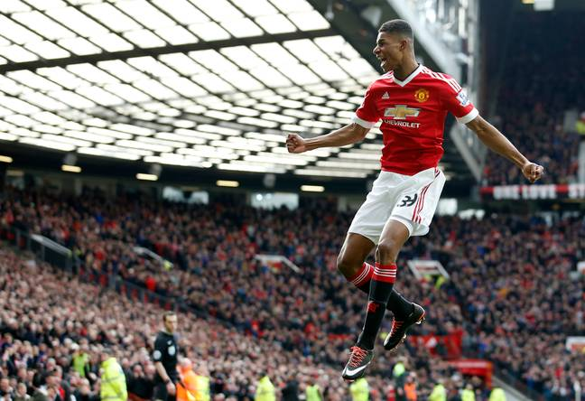 Rashford's career won't really take off until his return to Old Trafford. Image: PA Images