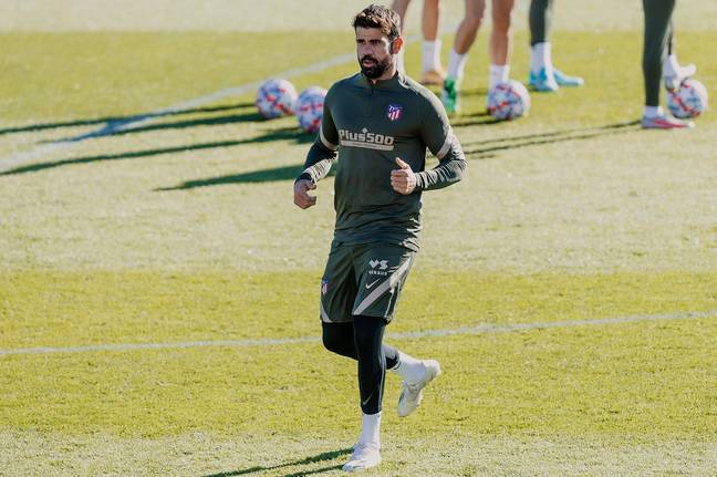 Costa was released by Atleti late last year. Image: PA Images