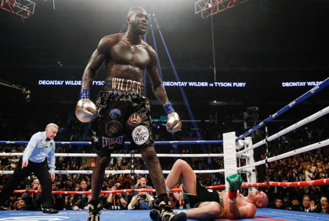 Deontay Wilder has put Fury on the canvas before