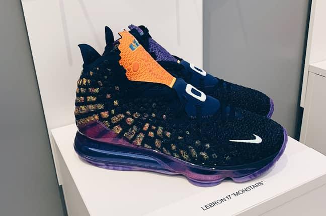 The Monstars' sneakers. Image: Nike