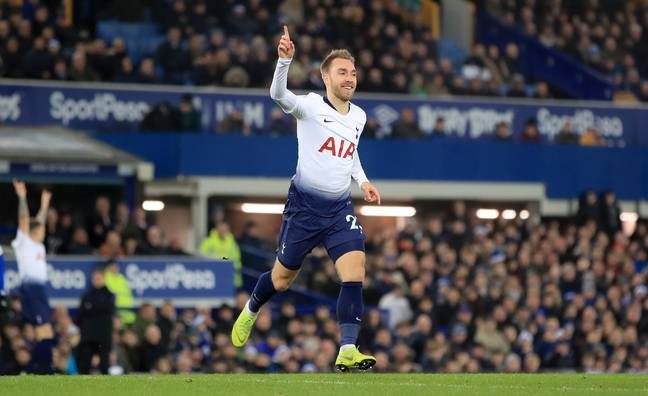 Losing Eriksen would be a huge blow to Spurs. Image: PA Images