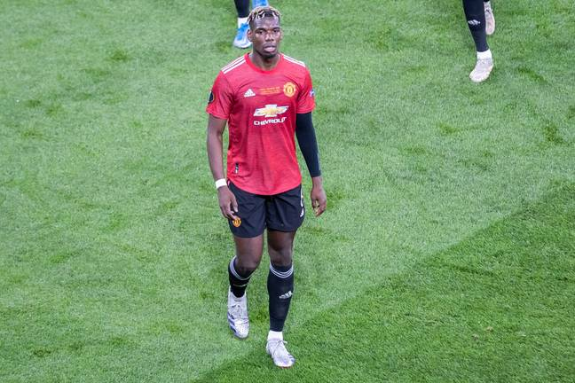 Pogba may have played his final game for United. Image: PA Images