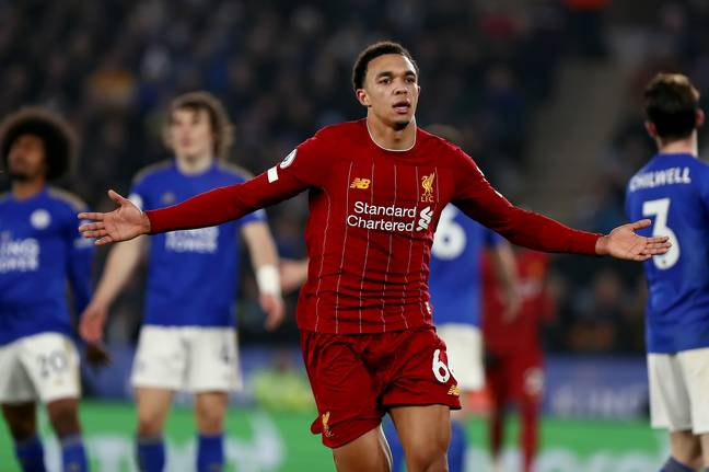 Trent Alexander-Arnold has also been in excellent form this season. Image: PA Images