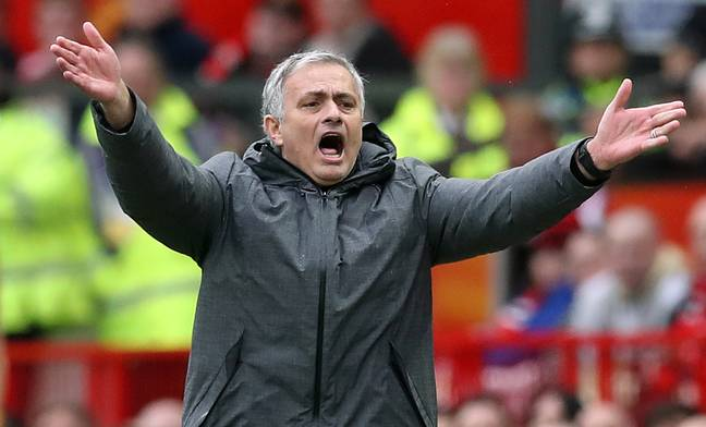 Jose Mourinho whilst Manchester United manager (Image Credit: PA)