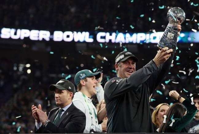 Pederson won the Super Bowl in 2018. Credit: PA