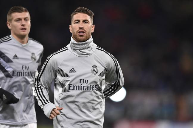 Ramos has flirted with leaving before. Image: PA Images