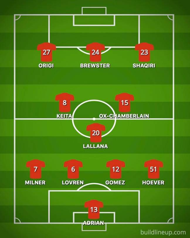 Liverpool's second eleven would still feature experienced players. (Image Credit: PA)