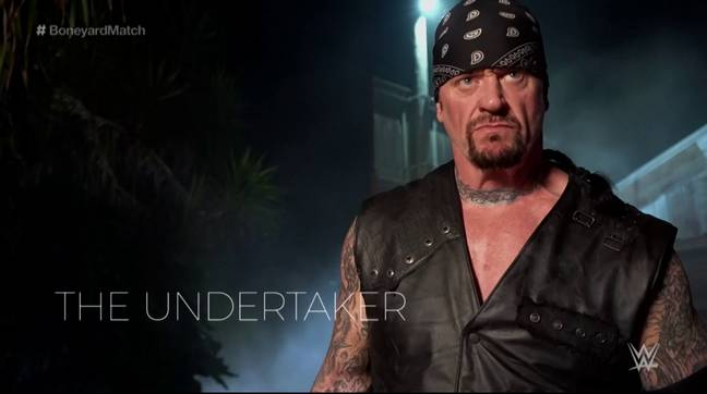 The Undertaker sent fans into meltdown with his performance in the Boneyard Match. (Image Credit: WWE)