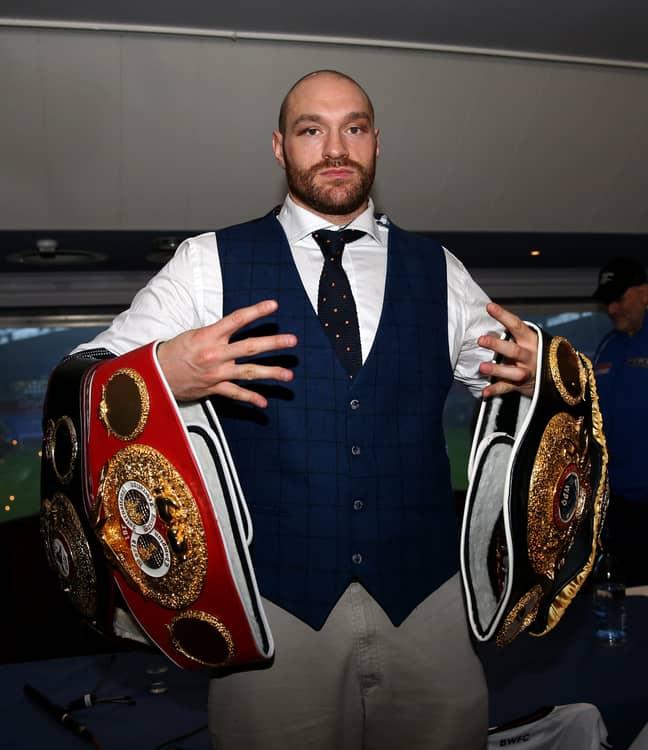 Tyson Fury. Credit: PA