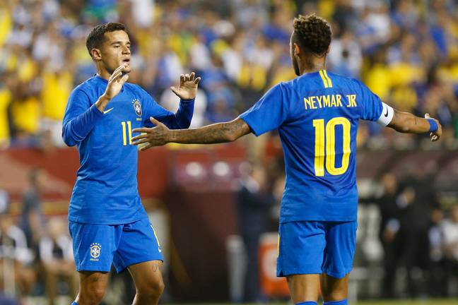 Coutinho and Neymar's transfer sagas were closely linked. Image: PA Images