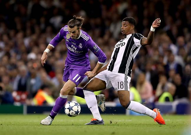 Lemina in the Champions League final. Image: PA Images