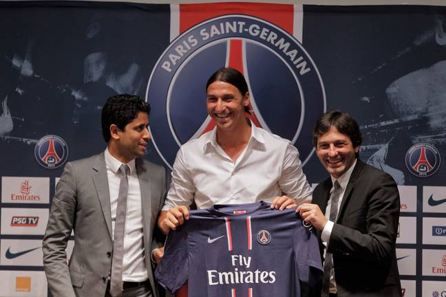 Zlatan moved to PSG not long after Milan's failure to win the league. Image: PA Images
