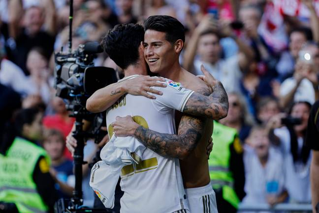 Isco and James Rodrigues