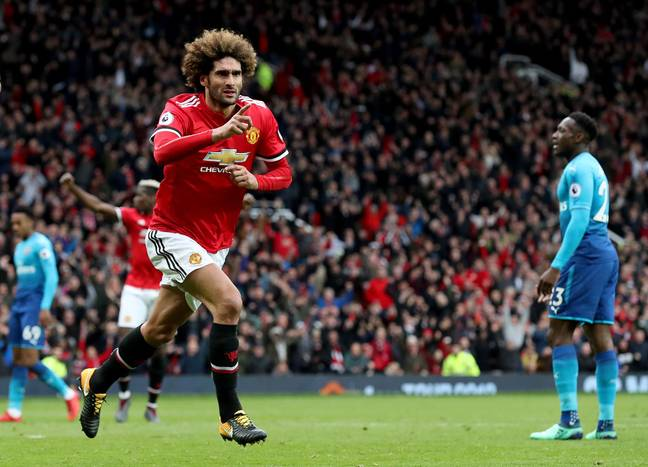 Fellaini looks certain to leave Old Trafford this summer. Image: PA Images