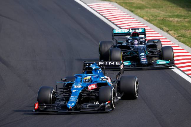 Hamilton's battle with Alonso made for brilliant viewing. Image: PA Images