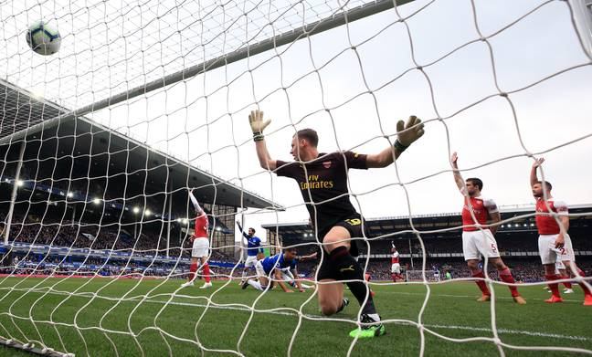 Leno had a tricky start to life as Arsenal keeper last season. Image: PA Images