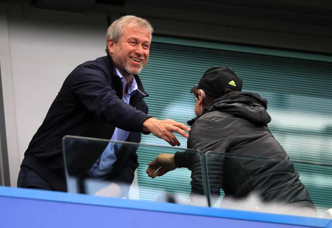 Abramovich isn't at Stamford Bridge as often now. Image: PA Images