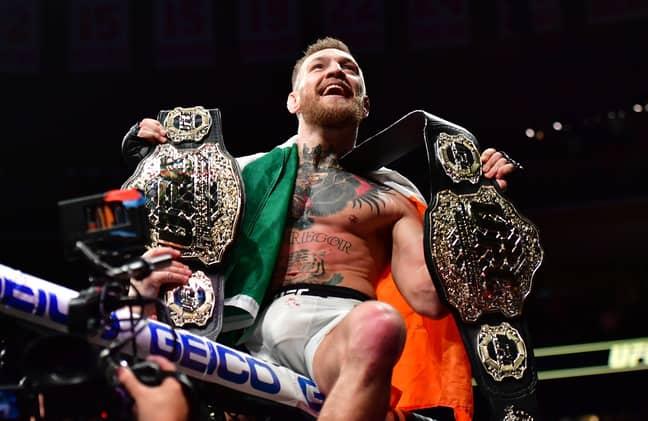 Conor McGregor. Credit: PA