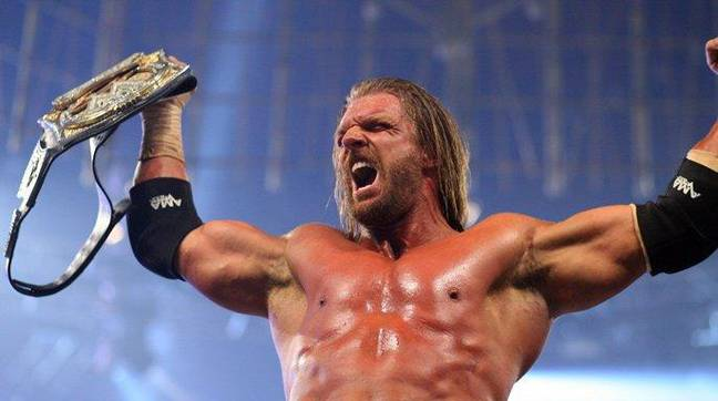 Triple H is a 13 time world champion with WWE. Image: WWE
