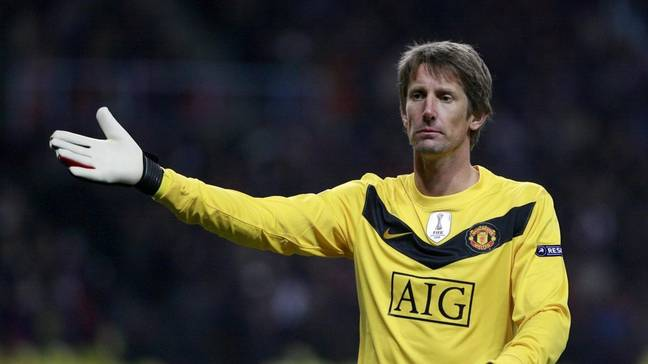 Edwin van der Sar shone brightest during the final years of his career with Manchester United