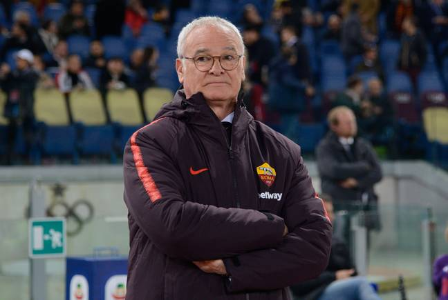 Ranieri is in his second spell with Roma. Image: PA Images