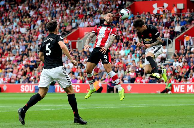 Maguire and Lindelof in action against Southampton (Image Credit: PA)