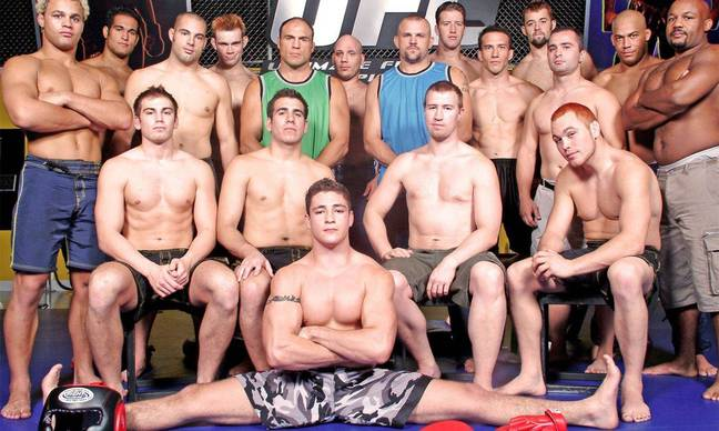 The very first cast of The Ultimate Fighter. Credit: Zuffa / UFC