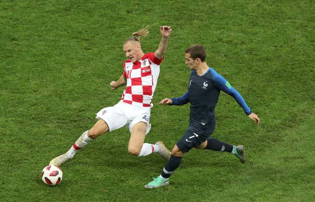 Vida was one of Croatia's best players at the 2018 World Cup. Image: PA Images