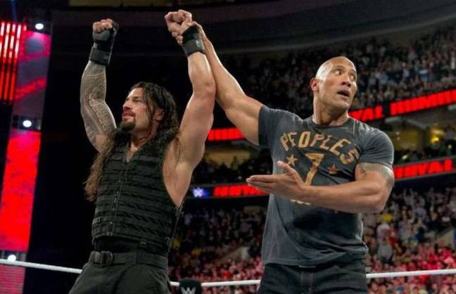 The Rock could face Roman Reigns next year. Image: WWE.com