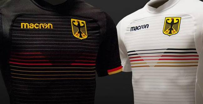 Germany's new rugby kits look great. Images: Footy Headlines