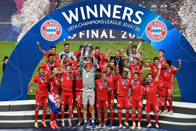 Bayern are currently Champions League holders but aren't included in the new Super League plans. Image PA Images