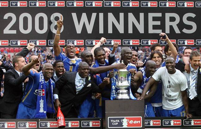 Portsmouth's semi-final victory over Manchester United in 2008 on the way to FA Cup glory is one of the games to be shown. (Image Credit: PA)