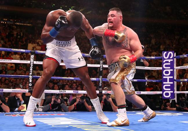 Andy Ruiz stunned the world when he knocked out Anthony Joshua last month at Madison Square Garden