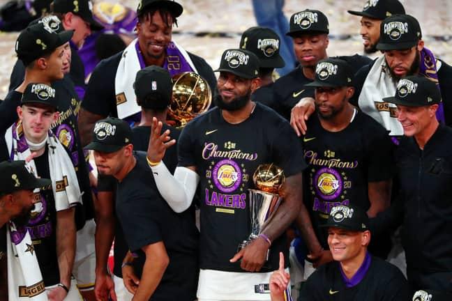 Los Angeles Lakers star LeBron James recently won his fourth NBA Championship. Credit: PA
