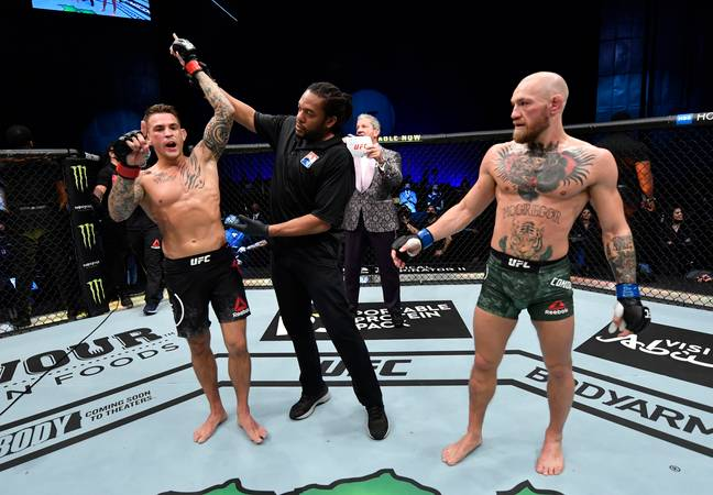 Poirier was victorious when the two met earlier this year. Image: PA Images
