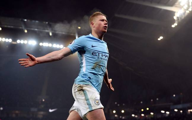 De Bruyne has been brilliant this season. Image: PA Images.