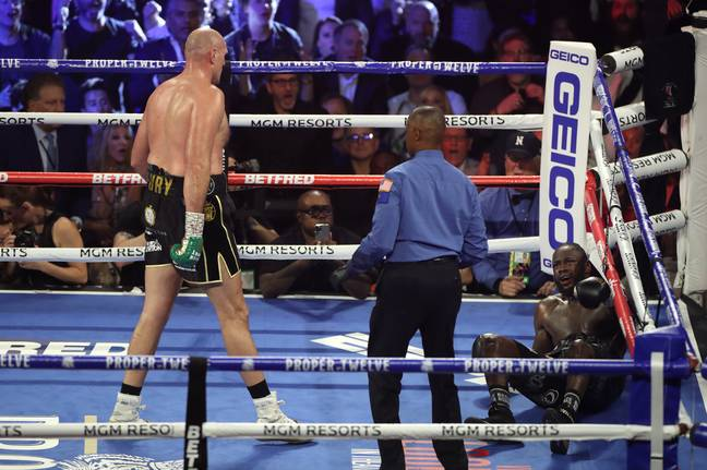 Fury's last fight came against Deontay Wilder in February 2020. Image: PA Images