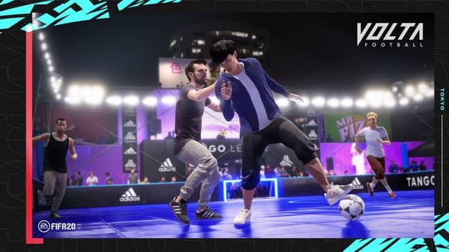 FIFA 20 Volta Football. Credit: EA