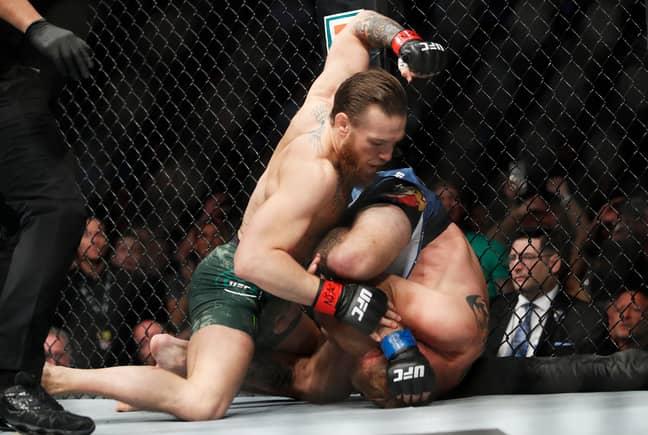 Conor McGregor beat Donald Cerrone in his comeback fight in Las Vegas