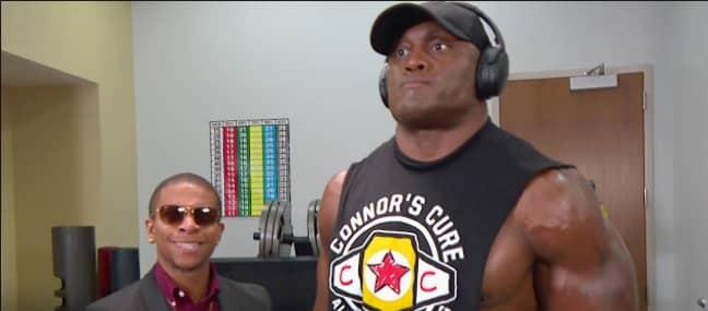 Lashley and Lio Rush [Credit: WWE Youtube]