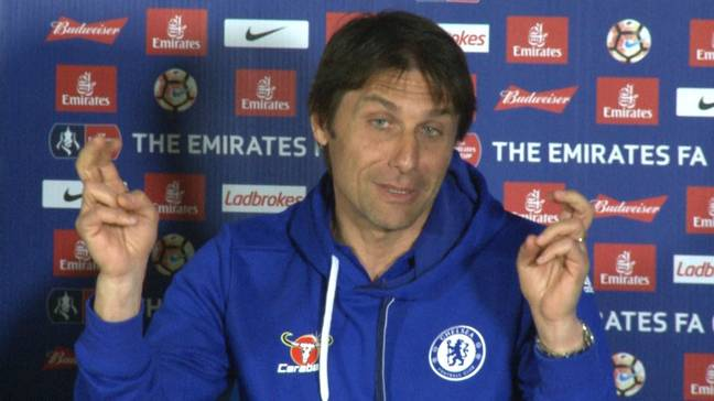 Conte is expected to be the next Inter boss. Image: PA Images