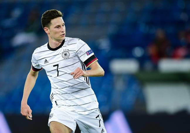 Draxler playing for Germany in the Nations League. Image: PA Images