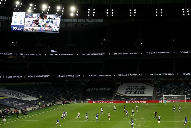 Empty stadiums make football a little depressing. Image: PA Images