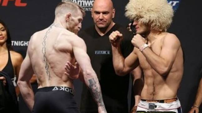 McGregor's last fight was his loss to Khabib Nurmagomedov. Image: UFC