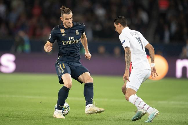 Bale was in the team for the Champions League opener against PSG but dropped for Brugge. Image: PA Images