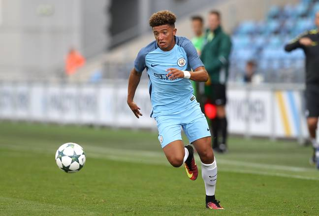 Sancho's spell at City is set to earn them some money this summer. Image: PA Images